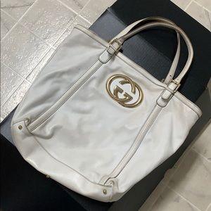White Gucci Bag